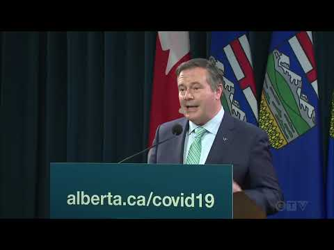 Kenney lowers gathering limits ahead of Thanksgiving weekend | COVID-19 in Alberta