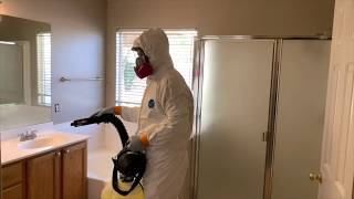 How to Disinfect a H๐me - All Pro Sanitize Fogger Disinfectant
