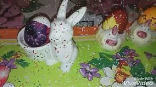 Украшение Пасхальных яиц!