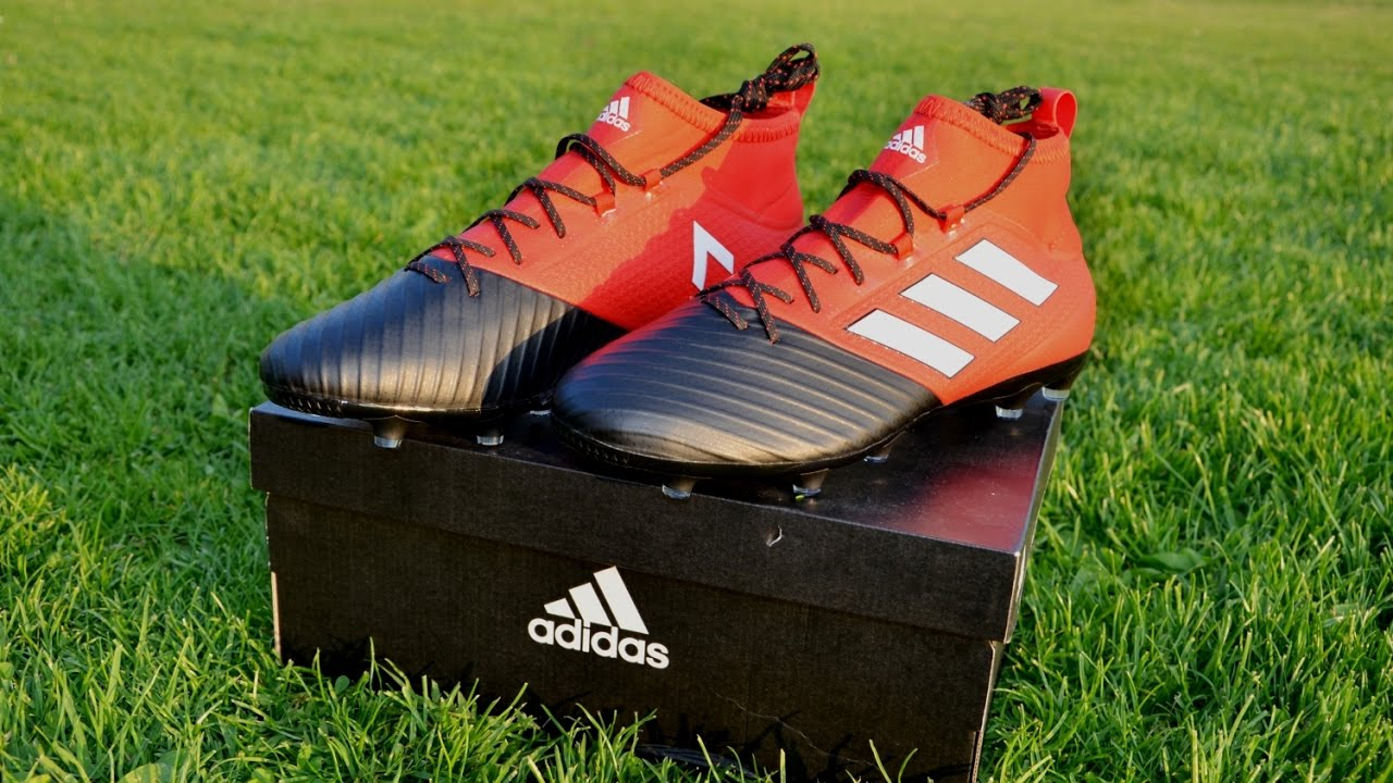 Adidas ACE 17.2 Primemesh FG (Red Limit Pack) | Design & Freestyle test