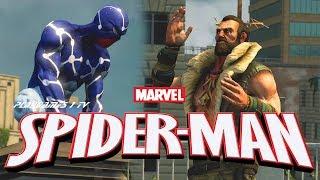 НОВЫЙ ЧЕЛОВЕК ПАУК 2 МУЛЬТФИЛЬМ ИГРА Spider-Man 2 MARVEL Super hero animated cartoon Game 16+ Камзи
