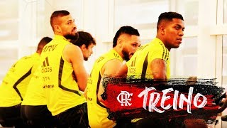 Flamengo segue a preparação para o Fla-Flu