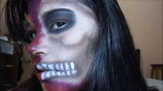 SKULL WOMAN Tutorial Makeup