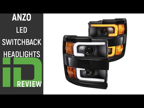 Anzo LED Switchback Headlights Review