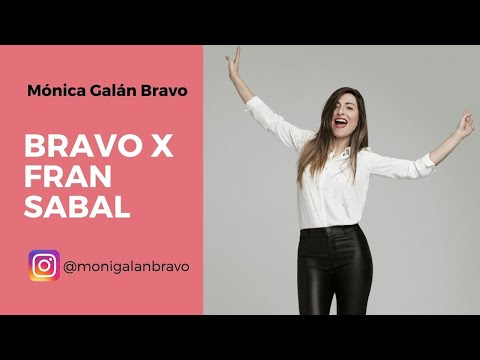Bravo X Fran Sabal, creadora de la Escuela de Nutrición Emocional.