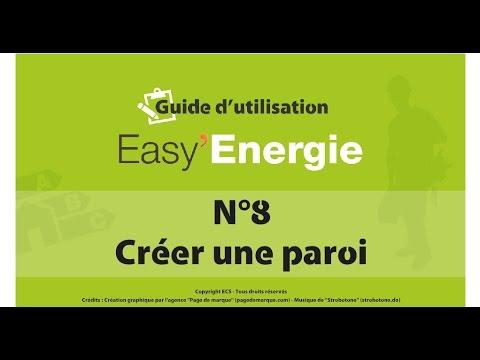 EASY Energie - Guide N°8 : Créer une paroi