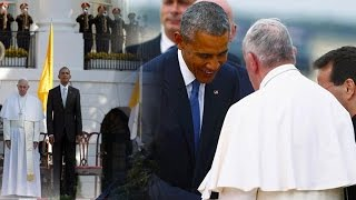 BLASPHEMY! Pope Francis HIGHLY Praised by Obama & Worshipped in USA! The IMAGE of BEAST
