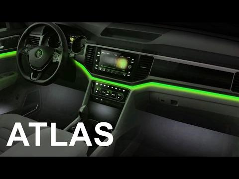 2017 Volkswagen ATLAS - INTERIOR- New 2017