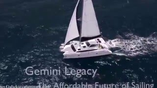 The Gemini Legacy 35 with Pete Gulick and The Catamaran Company.
