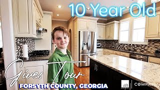 10 Year Old Gives Tour of Incredible Golf Home in Forsyth County, Georgia