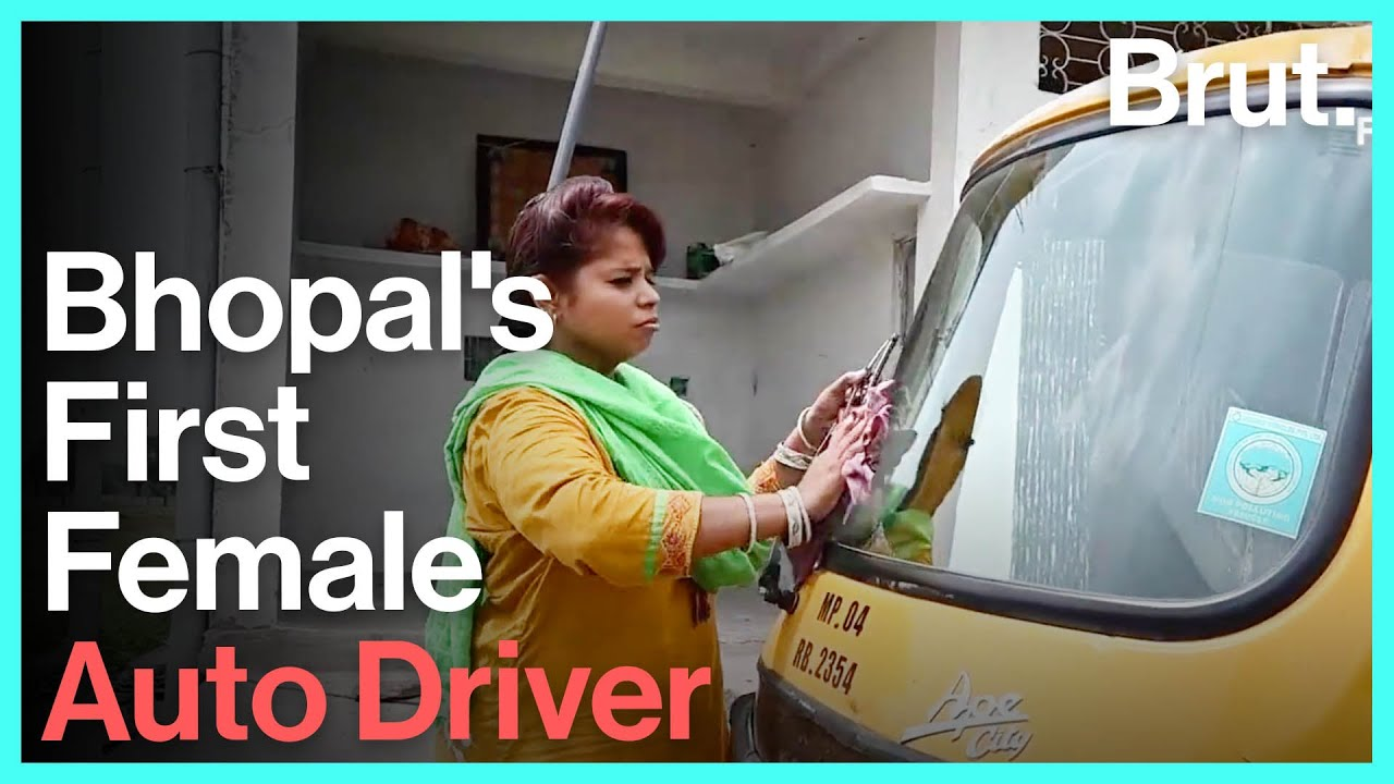 The Inspiring Story Of Bhopal's First Female Auto Driver