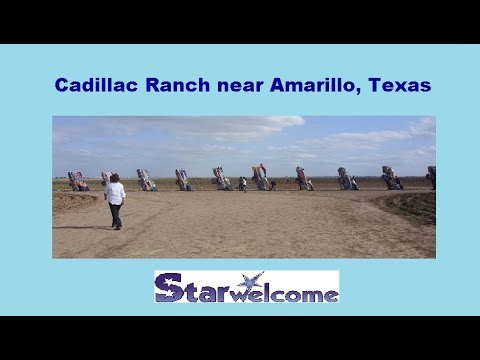 Cadillac Ranch off I-40 nr Amarillo Texas Travel Idea