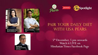 HT City Spotlight: Pair Your Daily Diet with USA Pears