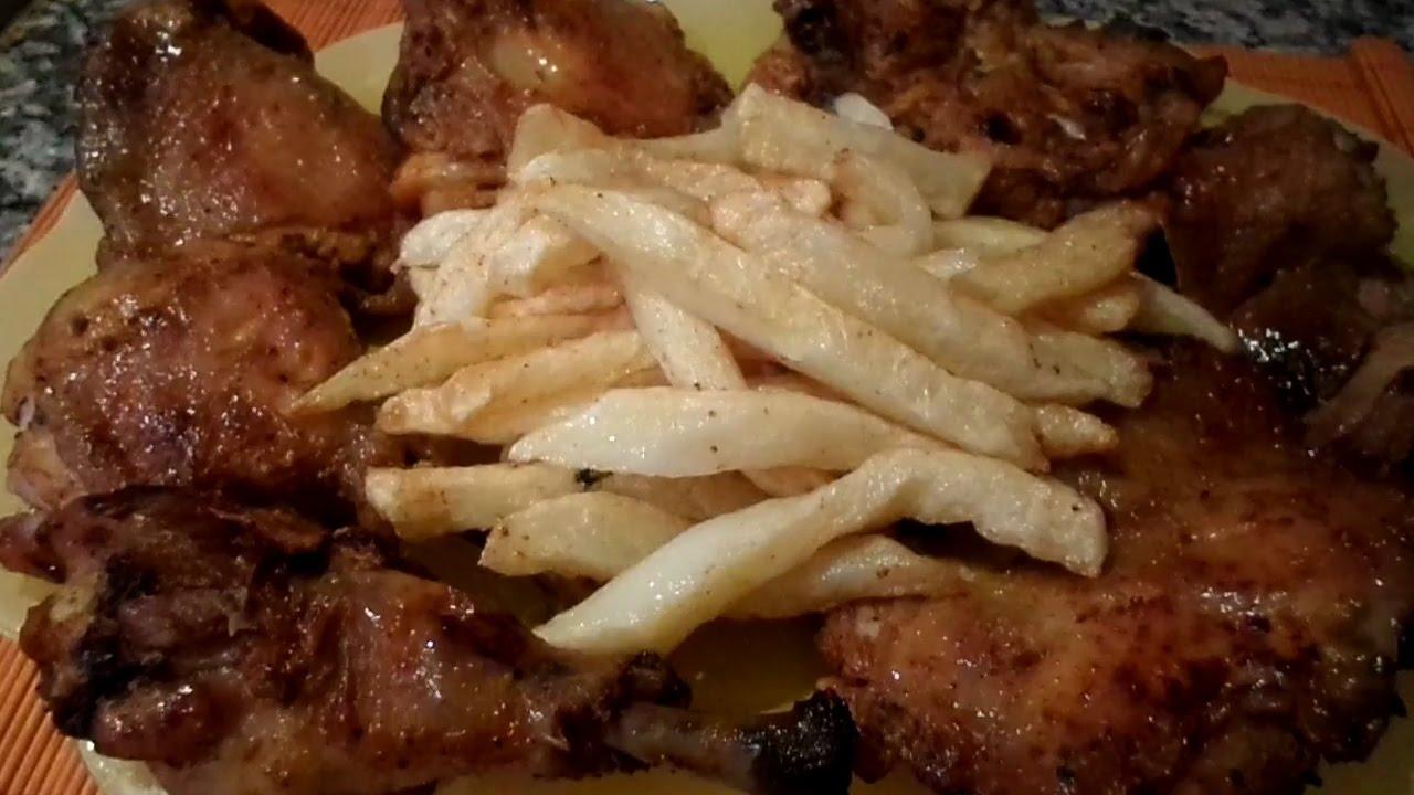 Cuisse de poulet grill au four youtube - Cuisse de poulet grille au four ...