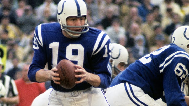 cheap for discount a0e2a 13b98 #6: Johnny Unitas | The Top 100: NFL's Greatest Players (2010) |  #FlashbackFridays