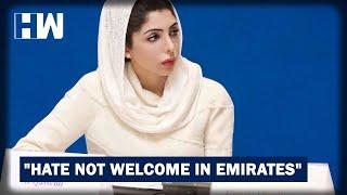 UAE Princess Blasts Indian Over His Islamophobic Tweet