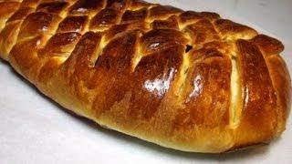 Классический Дрожжевой Пирог с Ягодами «Плетенка» видео рецепт