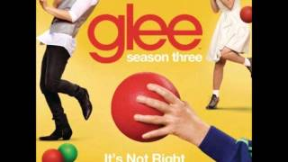 Glee - It's Not Right But It's Okay (DOWNLOAD MP3 + LYRICS)