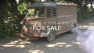 Citroën Hy type H 1953 for sale (sold)