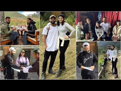 Anushka Sharma Celebrates Husband Virat Kohli Birthday In Bhutan😍 Mp3