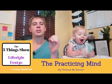 The Practicing Mind by Thomas M. Sterner - 3 Big Ideas