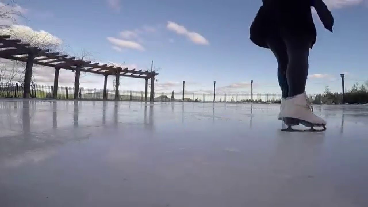 Bear Mountain Ice Rink - Outdoor Rink - I have to learn to ...