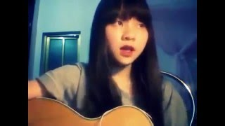 Nữ sinh gây sốt với bản cover my everything, guitar cover cực hit