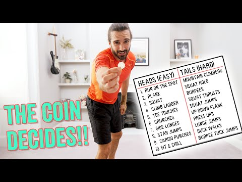 LET THE COIN DECIDE HIIT Workout | The Body Coach TV