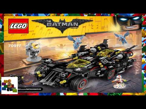 Lego Instructions The Batman Movie 70917 The Ultimate