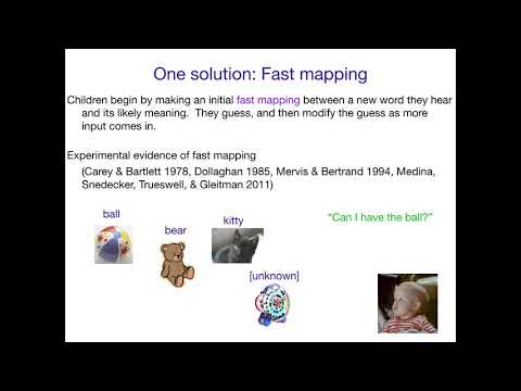 AcqOfLang1: Fast Mapping - YouTube