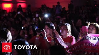 Lee Min Ho Meet & Greet in Los Angeles -- Event Highlights   Toyota