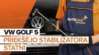 VW GOLF Savienotājstienis maiņa: rokasgrāmata