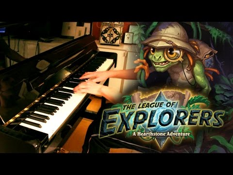"I arranged ""League of Explorers"" theme for the piano. What do you think?"