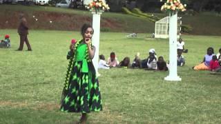 Furaha Gikambi doing Masha Mapenzi's song  Uhiko at CJ wedding
