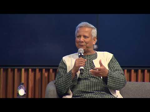 Professor Muhammad Yunus & Audette Exel AO Keynote, ASBF Forum