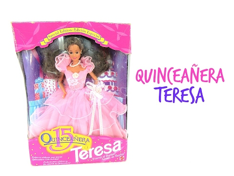 677e656a923 1994 SPECIAL EDITION QUINCEANERA TERESA - BARBIE DOLL REVIEWS - YouTube