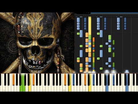 Pirates of the Caribbean -- Dead Men Tell No Tales PIANO IMPOSIBLE XD