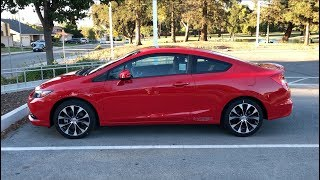 2013 Honda Civic Si Coupe Overview