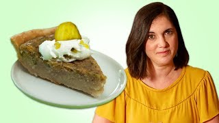 Pickle Pie Is Real | Dessert Recipes | Well Done