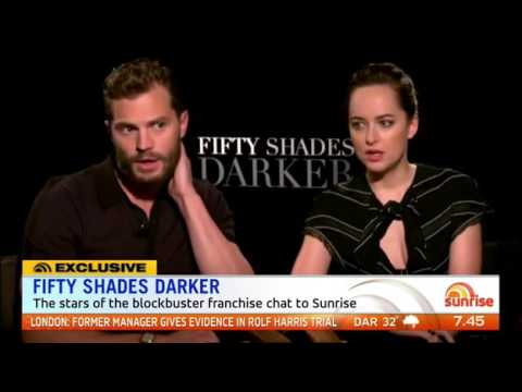 Jamie Dornan, Dakota Johnson - Sunrise Interview