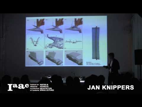 IAAC Lecture Series 2014 - Jan Knippers