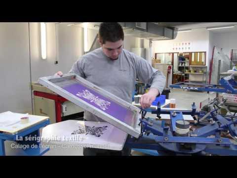 La technique de la sérigraphie textile