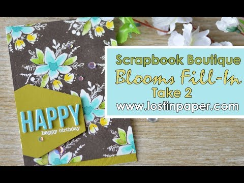 Concord & 9th - Blooms Fill-In Take 2 : Scrapbook Boutique!