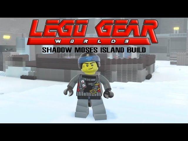 Посмотрите, как выглядит Metal Gear Solid в мире LEGO — видео