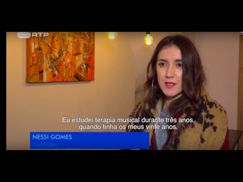 Nessi Gomes - Interview to the Portuguese TV,  November 2016