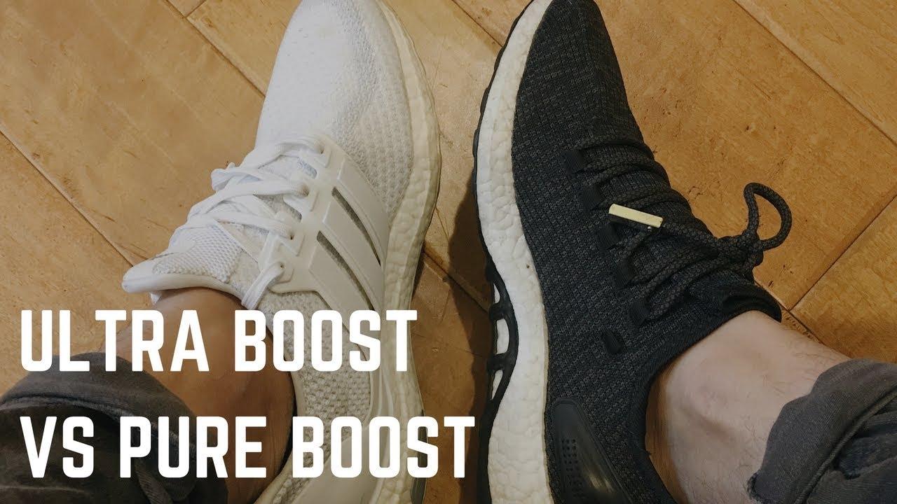 ultra boost ou pure boost