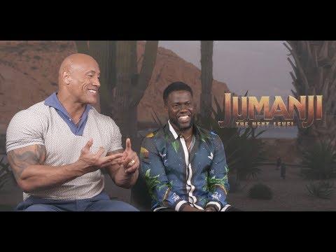 Jumanji: The Next Level's Star-Studded Cast Sounds Off on Sequel