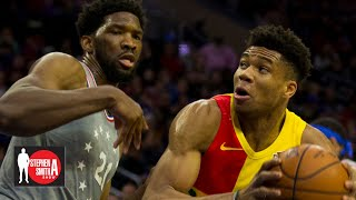 Joel Embiid should be more of a 'monster' like Giannis Antetokounmpo | Stephen A. Smith Show