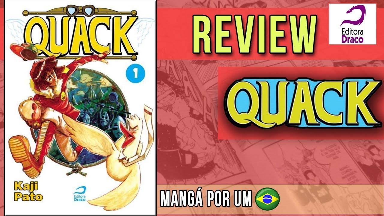 [Review] QUACK EDIÇÃO DA EDITORA DRACO - SANTA PATAGÔNIA! UM MANGÁ BRASILEIRO