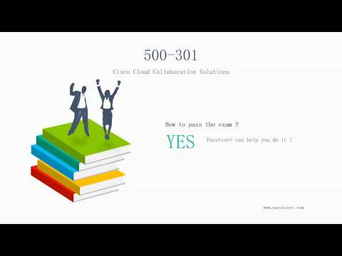[2018 Passtcert Release] Cisco 500-301 Exam Certification Dumps